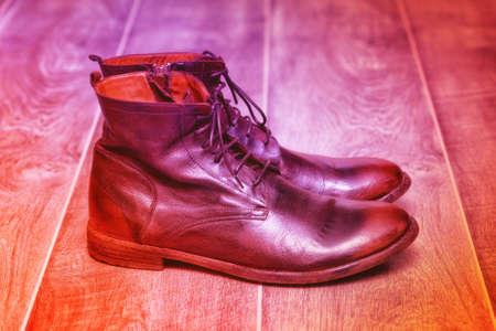 fashion leather shoes, art shoes