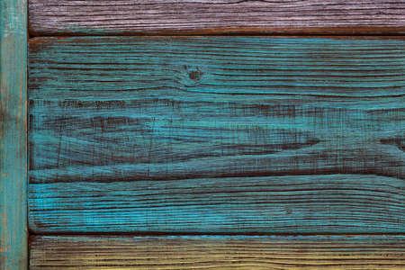 Background, wood texture. Beautiful texture cut down a tree, the patterns and swirls. Vintage style. Artistic antiqued and painted wood planks Stock Photo
