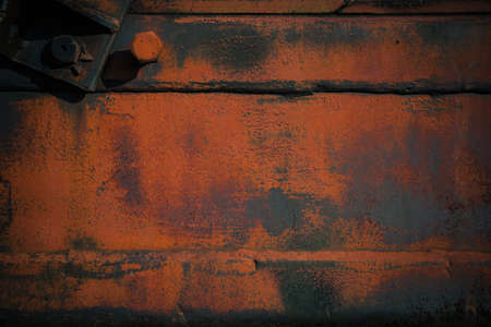 Background, texture, old rusty metal surface grunge