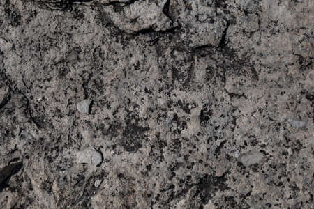 Background, texture. Gray blank surface. The texture of the stone and cobblestone