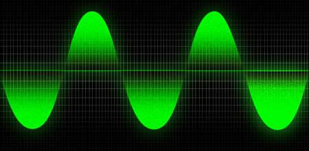 conputer: A computer wave Illustration