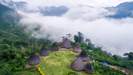 Wae Rebo The Village above the cloud in Flores