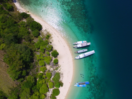 Angel Island in Flores Indonesia