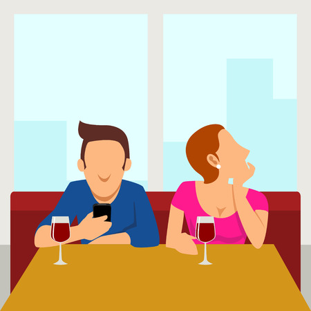 body language: Such A Boring Date