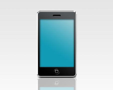 abstract mobile phone Stock Photo - 5695857