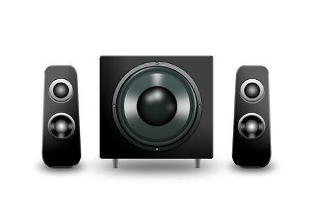 computer speakers photo