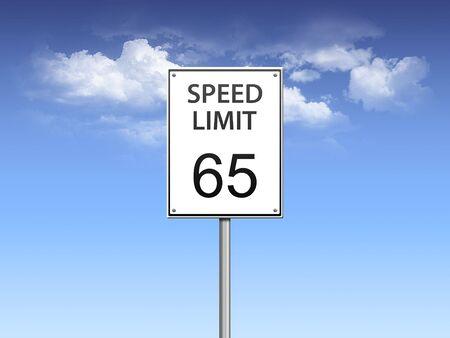 speed limit sign photo