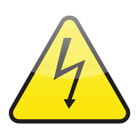 high voltage sign Stock Vector - 6139631