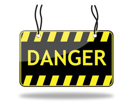 panneaux danger: signe de danger