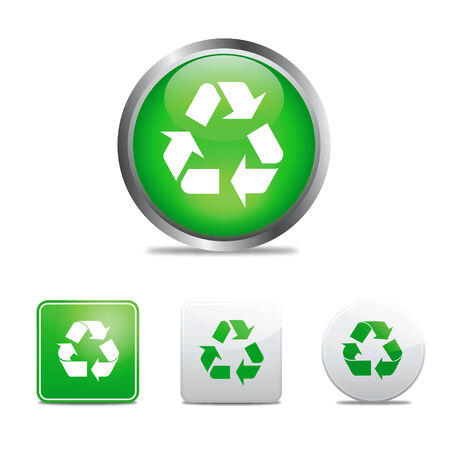 recycle icons Stock Vector - 6207278