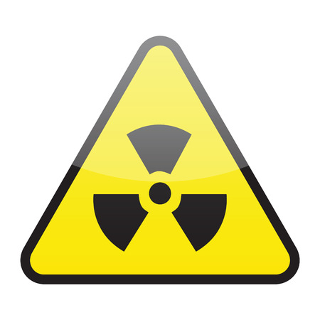 radioactive sign: radioactive sign (vector) Illustration