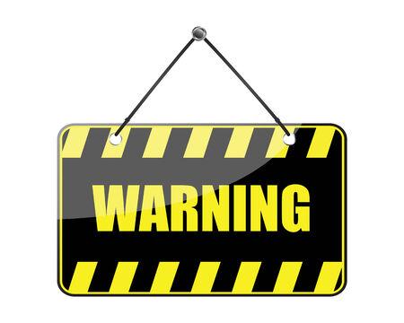 warning sign Stock Vector - 6371029