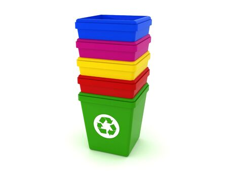 trash cans Stock Photo - 6602278