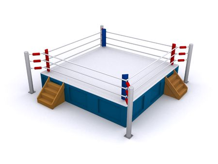 boxing ring photo