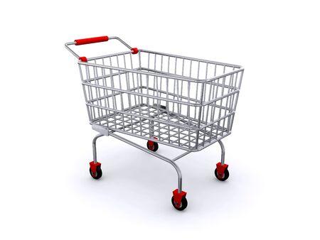 shopping cart Stock Photo - 6770622