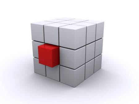 abstract cube photo
