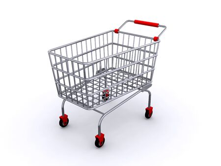 shopping cart Stock Photo - 6994911