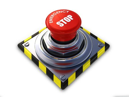 stop button: emergency stop button