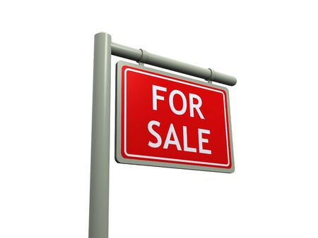 for sale sign Stock Photo - 7109839