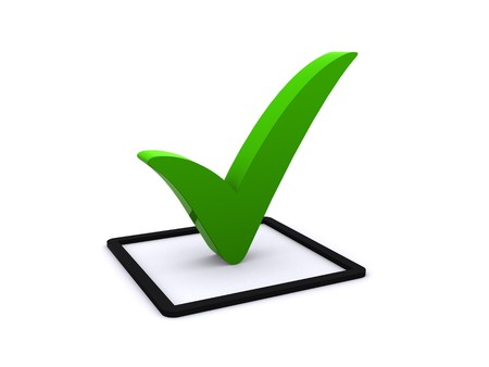 tick: marca de verificaci�n verde