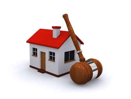 buy house: real estate auction