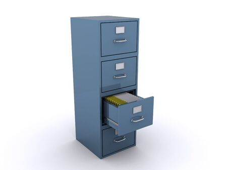 folder with documents: file cabinet