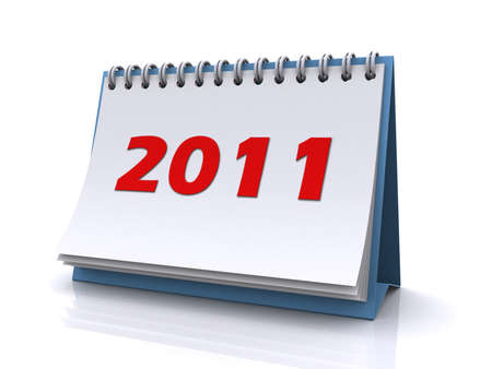 new year 2011 calendar Stock Photo - 8370619