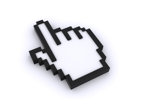 cursor 3d Stock Photo - 8576248