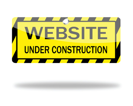 建設: 建設中のウェブサイト  イラスト・ベクター素材