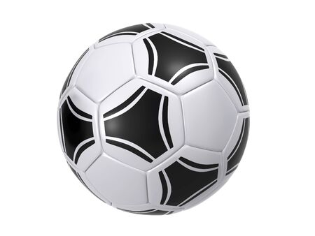 3d ball: soccer ball