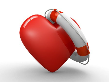 lifesaver: heart and life belt