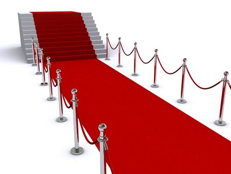 red carpet Stock Photo - 9329864