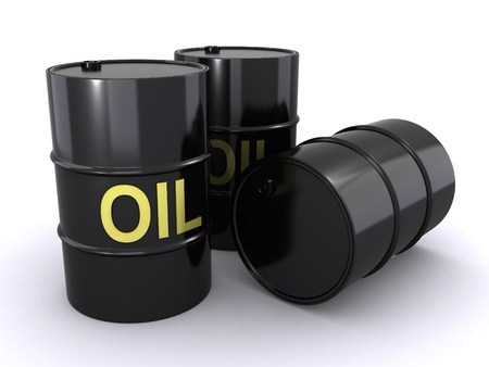 oil barrel: oil barrels