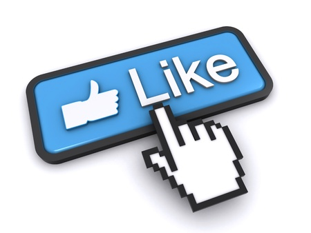 like button Stock Photo - 12200569