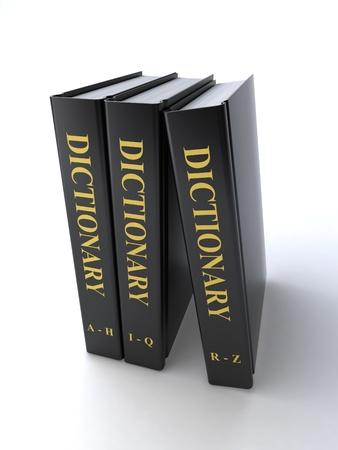 Wörterbuch Lizenzfreie Bilder