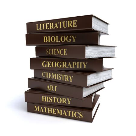 school books Stock Photo