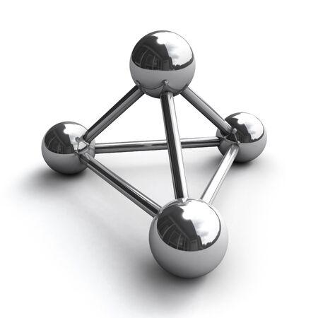 conexiones: mol�cula de cromo