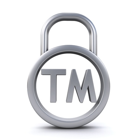 trademark sign padlock  photo