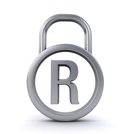 registered trademark padlock photo