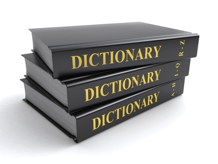 vocabulary: dictionary books