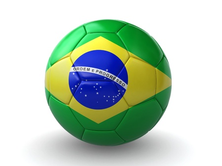 ballon foot: brazilian soccer ball