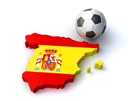 spanish soccer Stock Photo - 16002789