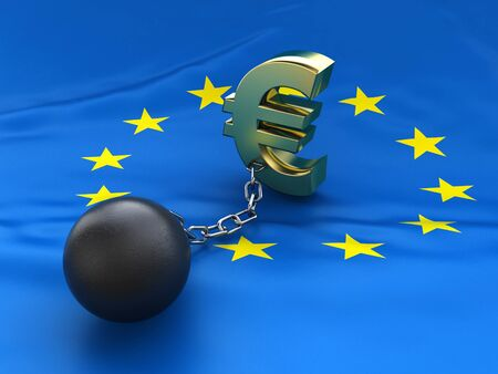 EU debt crisis photo
