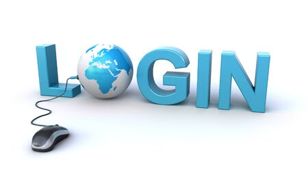 login concept Stock Photo - 17691840