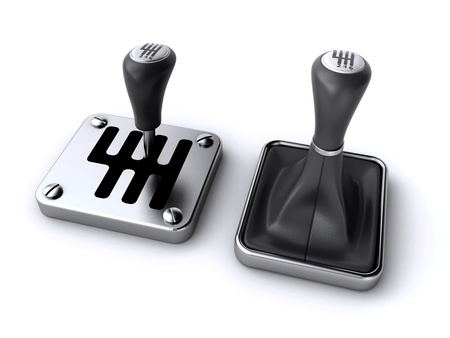 palanca de cambios: palos de coches de engranajes