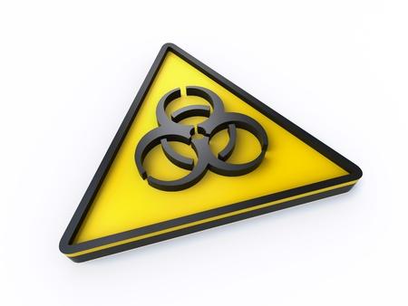 biohazard sign Stock Photo - 20215256
