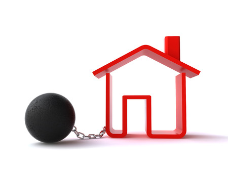confiscated: real estate debt