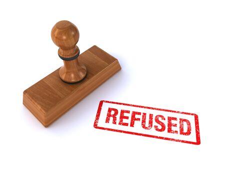 refused: stamp refused