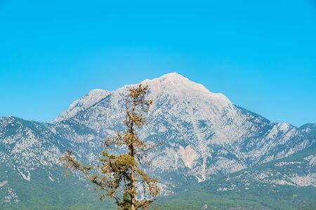 High mountains without clouds in sunny weather 写真素材