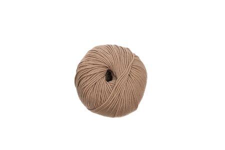 Close up of wool knitting on white background. Zdjęcie Seryjne